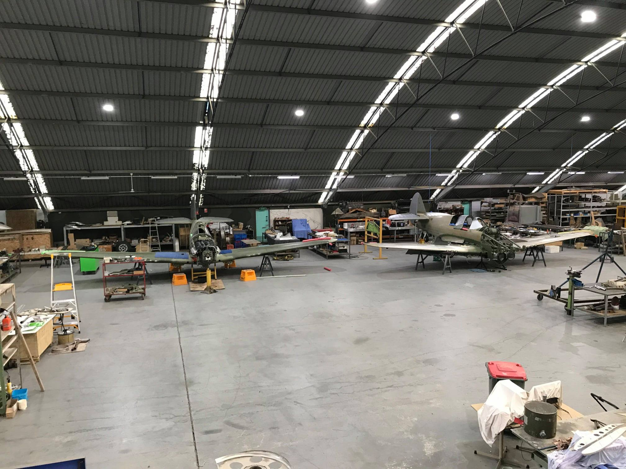 Precision Airmotive Wangaratta P-40 production line